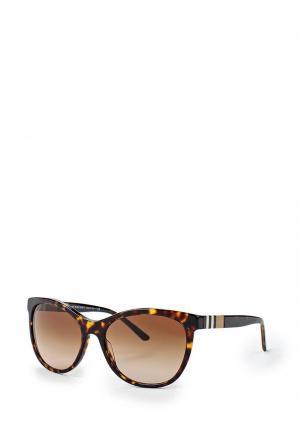 Очки солнцезащитные Burberry BE4199 300213. Цвет: коричневый