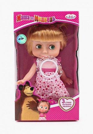 Кукла Карапуз «Маша в день рождения». Цвет: разноцветный