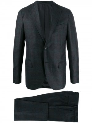 Delloglio строгий костюм-двойка Dell'oglio. Цвет: серый