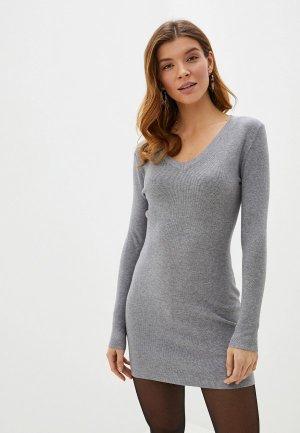 Платье Блисс. Цвет: серый