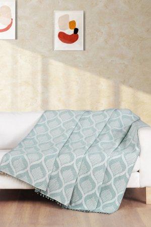 Плед 150x200 Sofitel Arya home collection. Цвет: мятный