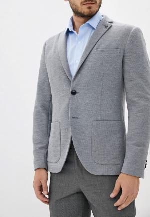 Пиджак Selected Homme. Цвет: серый