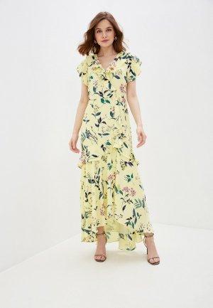 Платье Banana Republic. Цвет: желтый