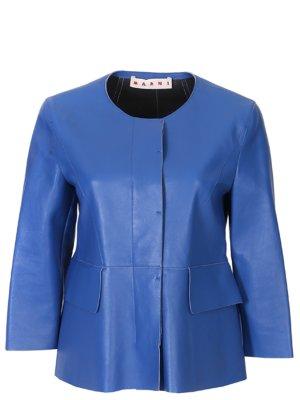 Куртка кожаная MARNI