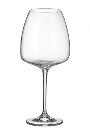 Бокалы для вина 770 мл, 6 шт. Crystalite Bohemia. Цвет: прозрачный