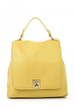 Рюкзак Jacky&Celine. Цвет: горчичный