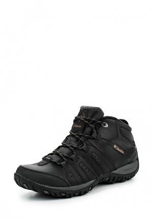Ботинки трекинговые Columbia PEAKFREAK™ NOMAD CHUKKA WP OMNI-HEAT™. Цвет: черный