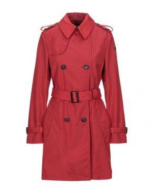 Легкое пальто HISTORIC. Цвет: кирпично-красный