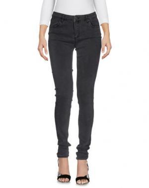 Джинсовые брюки 2ND ONE. Цвет: свинцово-серый