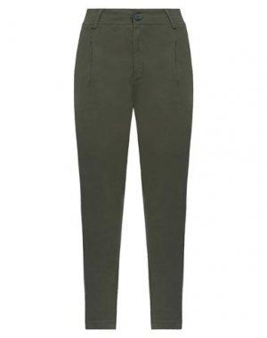 Джинсовые брюки B.YU. Цвет: зеленый-милитари