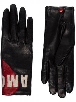 Перчатки Amour Agnelle. Цвет: черный