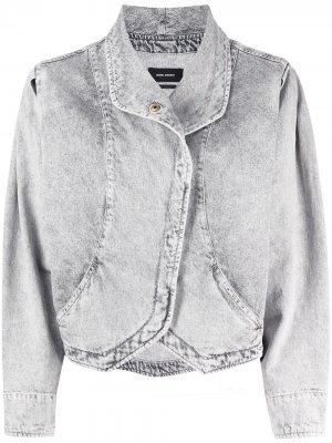 Джинсовая куртка Pauline Isabel Marant. Цвет: серый