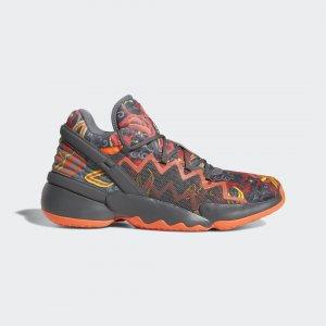 Баскетбольные кроссовки Donovan Mitchell D.O.N. Issue #2 Performance adidas. Цвет: красный