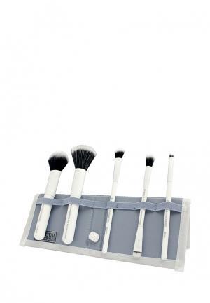 Набор кистей для макияжа Royal&Langnickel. Цвет: белый