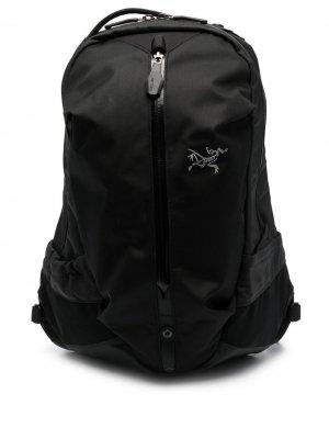 Arcteryx рюкзак Arro 16 на молнии Arc'teryx. Цвет: черный