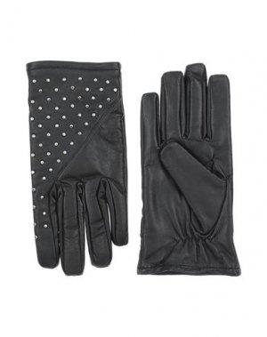 Перчатки BOLONGARO TREVOR. Цвет: черный
