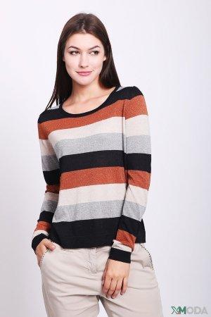 Пуловер Comma. Цвет: разноцветный