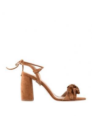 Сандалии ANNA F.. Цвет: коричневый
