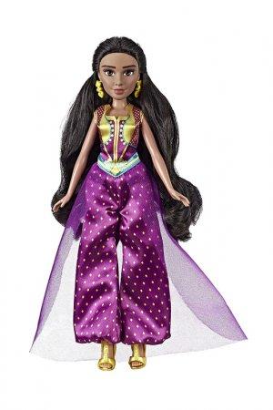 Кукла Жасмин с аксессуарами Disney Princess. Цвет: бежевый, фиолетовый