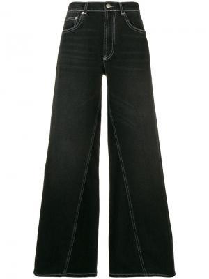 Широкие джинсы Ganni