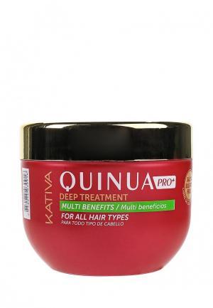 Маска для волос Kativa QUINUA Защита цвета, 500 мл