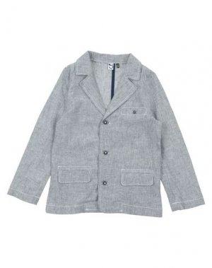Пиджак 3 POMMES. Цвет: синий