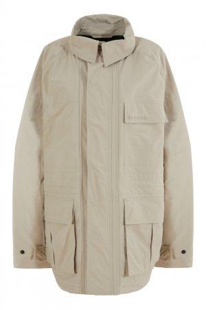 Бежевая куртка Balenciaga. Цвет: бежевый