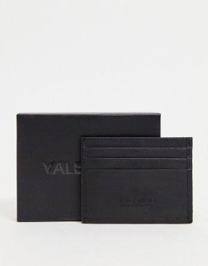 Черная кредитница Kylo-Черный цвет Valentino Bags