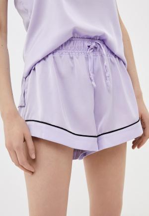 Шорты домашние Juicy Couture. Цвет: фиолетовый
