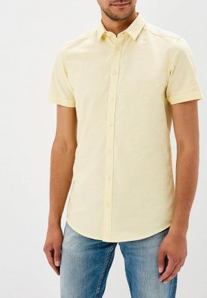Рубашка Top Secret. Цвет: желтый