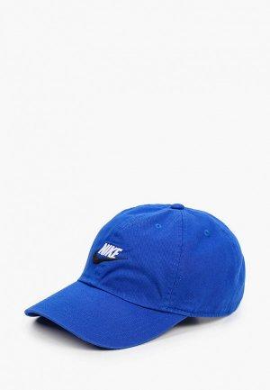 Бейсболка Nike Y NK H86 CAP FUTURA. Цвет: синий