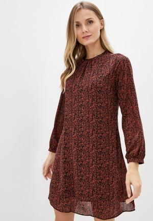 Платье adL. Цвет: бордовый