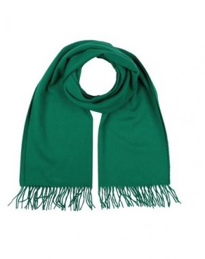Шарф BEGG & CO. Цвет: зеленый