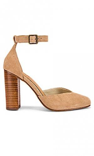 Обувь на каблуке collette Soludos. Цвет: цвет загара