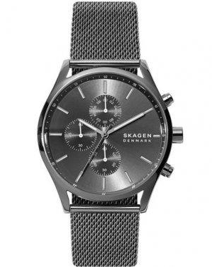 Наручные часы SKAGEN. Цвет: стальной серый