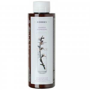 Шампунь для поврежденных волос с миндалем и семенами льна KORRES Shampoo Almond and Linseed For Dry/Damaged Hair (250 мл)