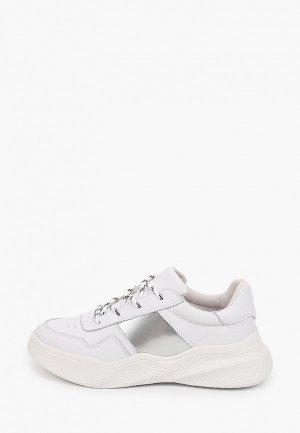 Кроссовки Calipso. Цвет: белый