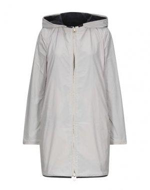 Легкое пальто DUVETICA. Цвет: бежевый