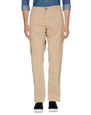 Повседневные брюки FRANKLIN & MARSHALL. Цвет: песочный
