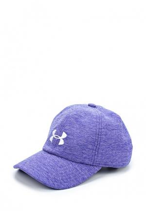 Бейсболка Under Armour Girls Twisted Cap. Цвет: фиолетовый