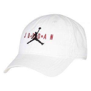 Jan Curve Brim Adjustable Hat Jordan. Цвет: белый