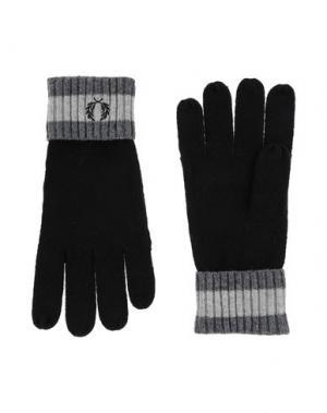 Перчатки FRED PERRY. Цвет: черный