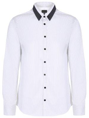Рубашка slim fit в полоску LES HOMMES