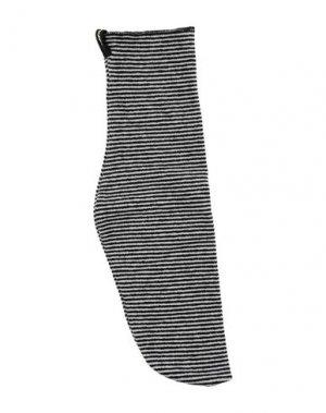 Короткие носки MAMA B.. Цвет: черный