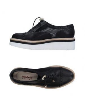 Обувь на шнурках BALDININI TREND. Цвет: черный