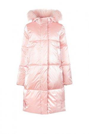Пальто PlayToday. Цвет: светло-розовый