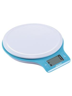 Кухонные весы Atlanta. Цвет: белый, синий