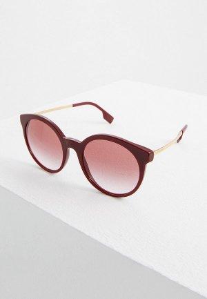 Очки солнцезащитные Burberry BE4296 34038D. Цвет: бордовый