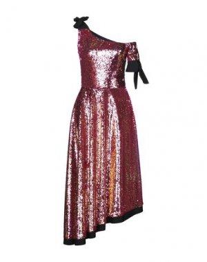 Платье длиной 3/4 BEATRICE. Цвет: красный