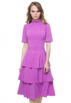 Платье Marichuell LOREN. Цвет: розовый